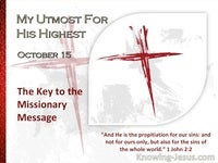 The Key to the Missionary Message